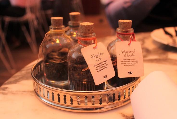 tea bottles